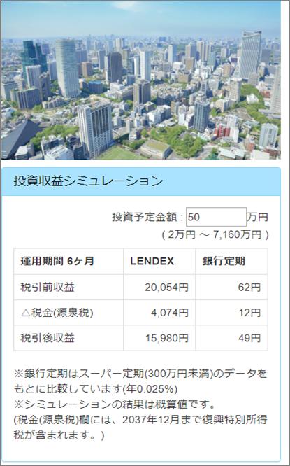 02_LENDEX不動産担保付きローンファンド23号利益