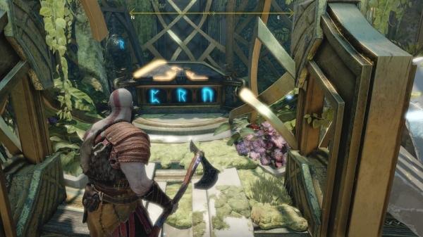 【ゴッドオブウォーPS4攻略】「円環の神殿:内部」にあるノルンの宝箱の開け方 /「光の湖」 【GOW 攻略ブログ】