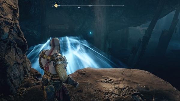 【ゴッドオブウォーPS4攻略】魔女の洞窟にあるノルンの宝箱(封印宝箱)の開け方 /「川沿いの道」 【GOW 攻略ブログ】