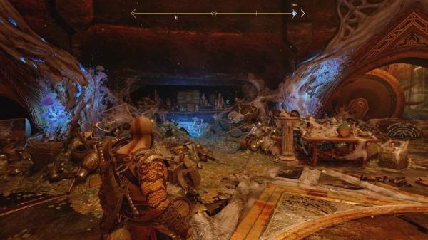 【ゴッドオブウォーPS4攻略】テュールの宝物庫にあるノルンの宝箱(封印宝箱)の開け方 /「テュールの神殿」 【GOW 攻略ブログ】
