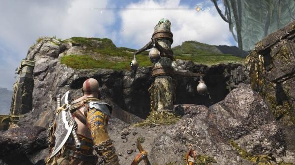 【ゴッドオブウォーPS4攻略】忘れられし洞窟にあるノルンの宝箱(封印宝箱)の開け方 /「ミズガルズ」 【GOW 攻略ブログ】
