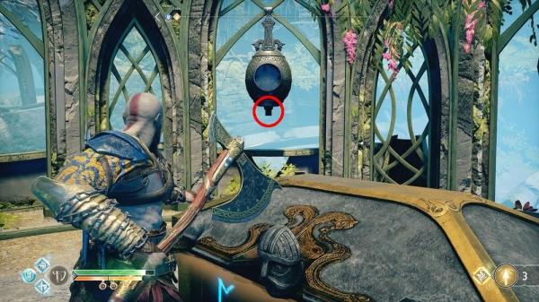【ゴッド・オブ・ウォーPS4攻略】「光の湖」 光のエルフの聖域にあるノルンの宝箱の開け方 /「アルフヘイム」 【GOW 攻略ブログ】