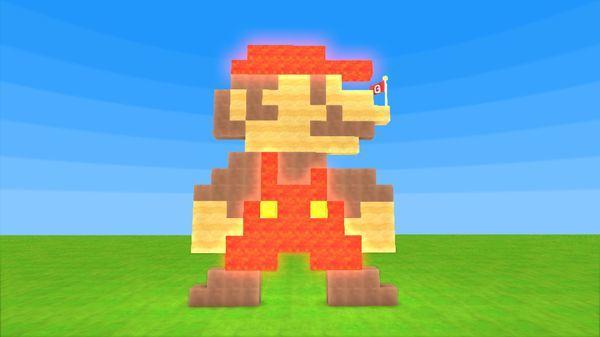 【Switch】キューブクリエイターX ステージ『マグママリオ』を作ってみた