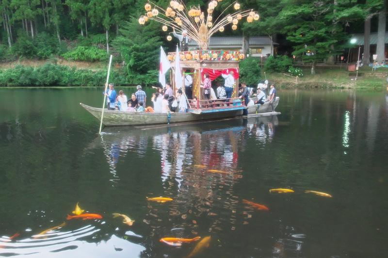 新宮池夏祭り 一