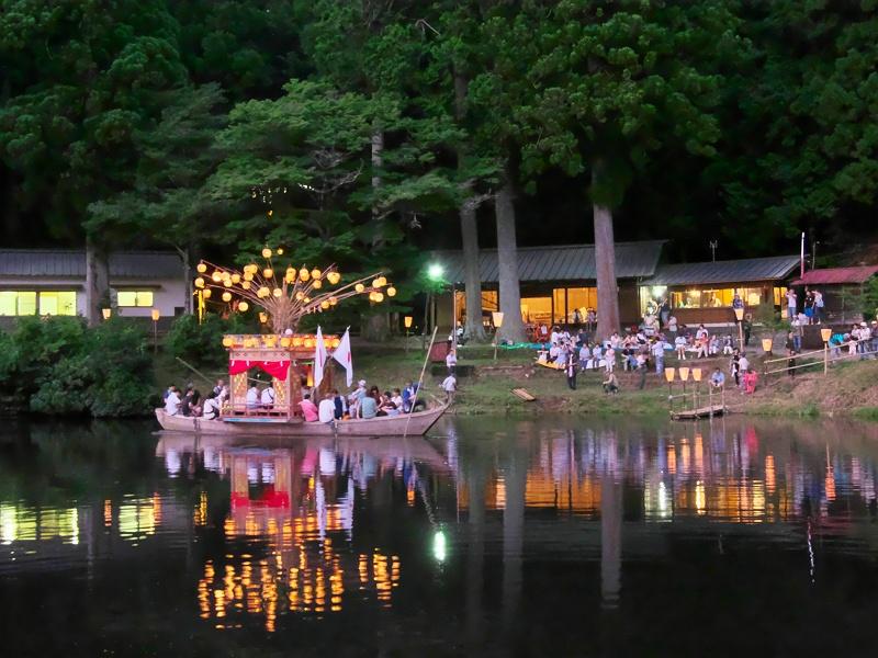 新宮池夏祭り 三