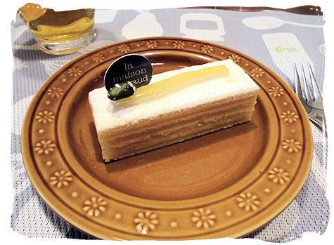 すごく美味しいケーキ