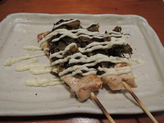 むね肉からし高菜焼(321円)