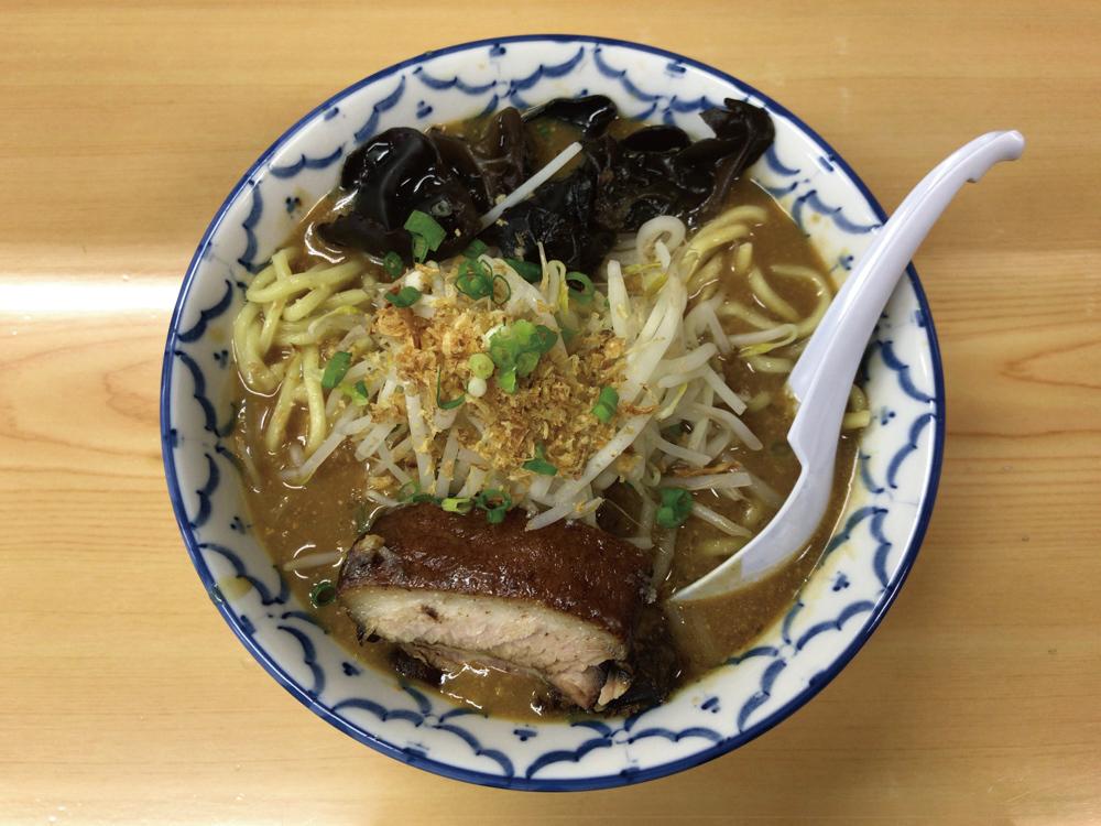 らぁ麺-波(シー) -- みそらーめん