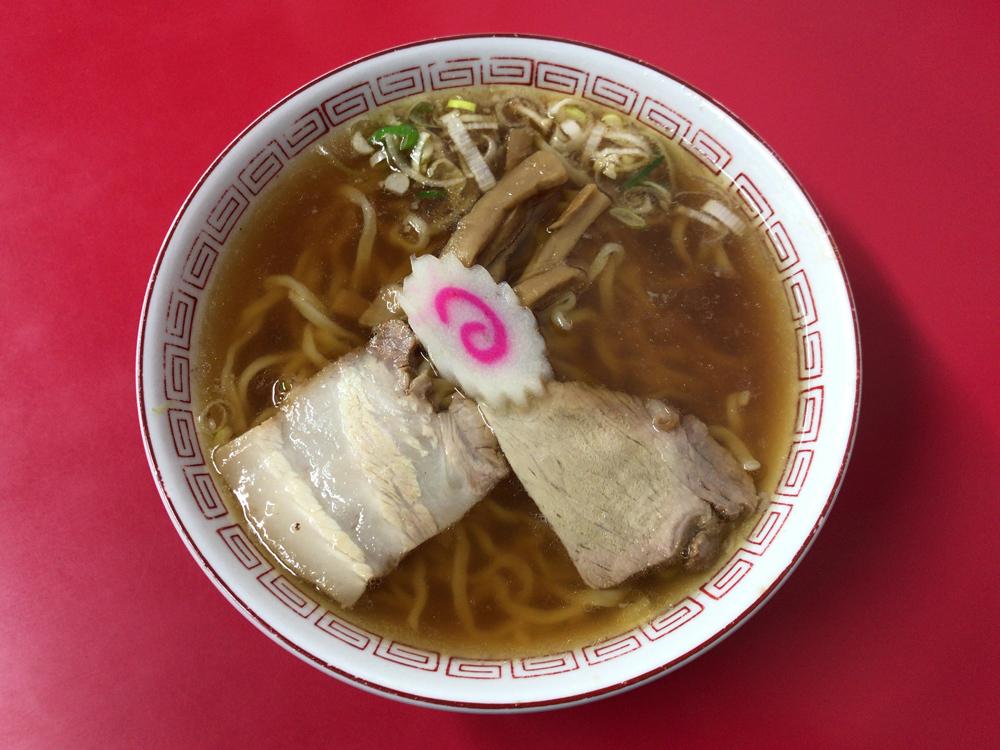 中国料理 源来軒 -- ラーメン(醤油)
