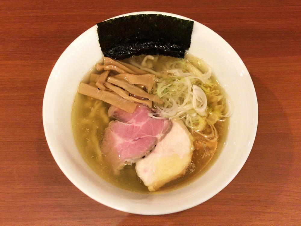 自家製手もみ麺 鈴ノ木 -- ラーメン(塩)