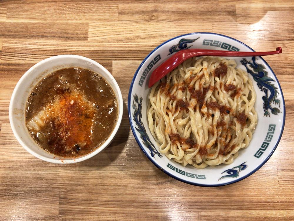 くじら食堂 nonowa東小金井店 -- エビ味噌つけ麺(限定)