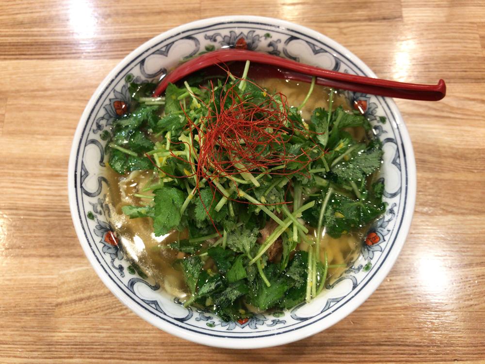 くじら食堂 nonowa東小金井店 -- ゆずと三つ葉のラーメン(限定)