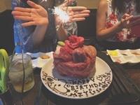 お肉ケーキ2