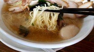ぐわらん洞 肉そば 麺スープ