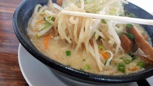 鶏処 味噌野菜ラーメン 麺スープ