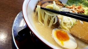 まっくうしゃ本店 塩 麺スープ