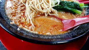 豚丸 担々麺 スープ