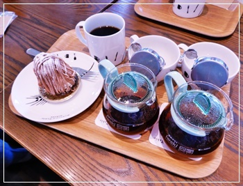 cafeで