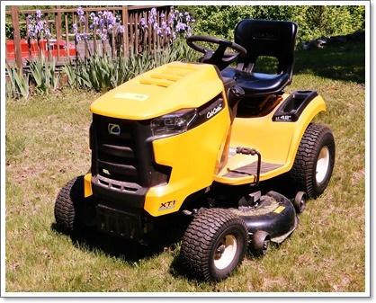 芝刈り機も新しく