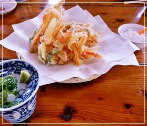 南瓜と長芋の天ぷら
