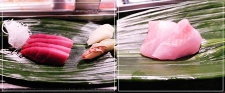 鮪&金目鯛