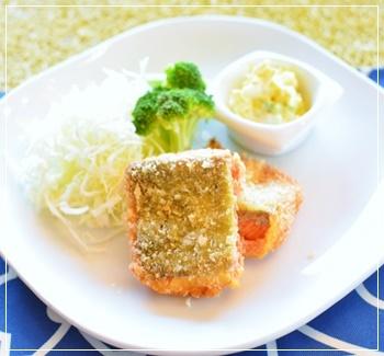 塩麹サーモンフライ
