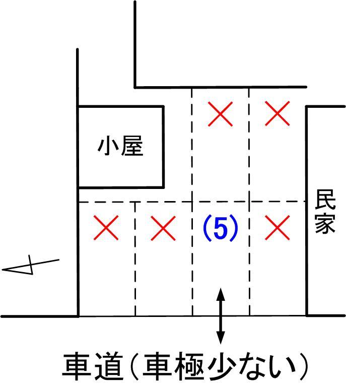 Grand-Blue東側駐車場見取り図02