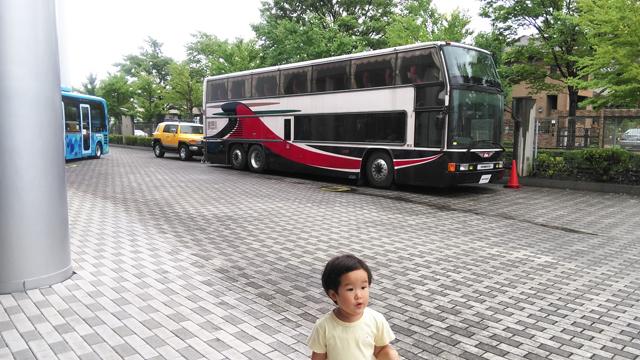 日野の2階建てバス グランビュー