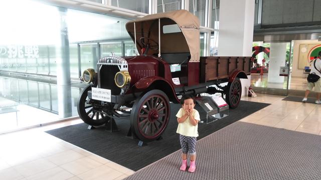 国産初のトラック TGE-A