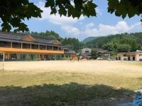 蘇陽南小学校校庭