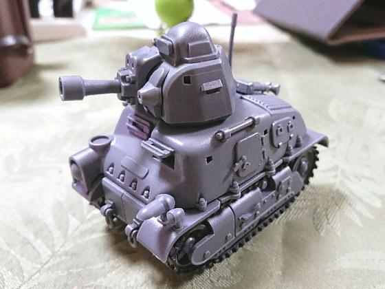モンモデルWWTシリーズ ソミュアS35騎兵戦車(仮組み)