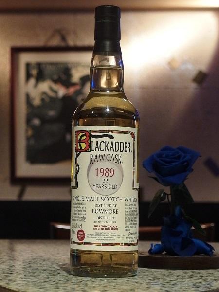 BLACKADDER RAWCASK BOWMORE 1989 22yo_600