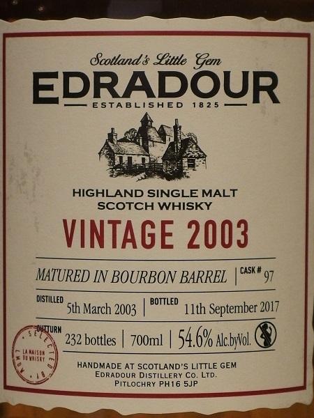 LMDW EDRADOUR Vintage 2003_L600