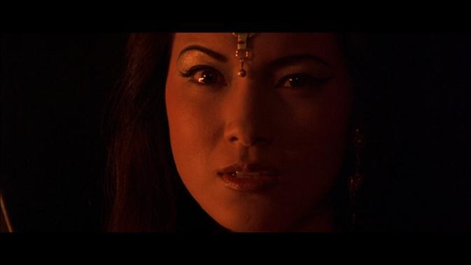 tsk-Kelly Hu as The Sorceress