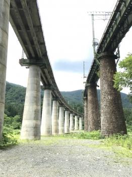 毛渡沢橋梁