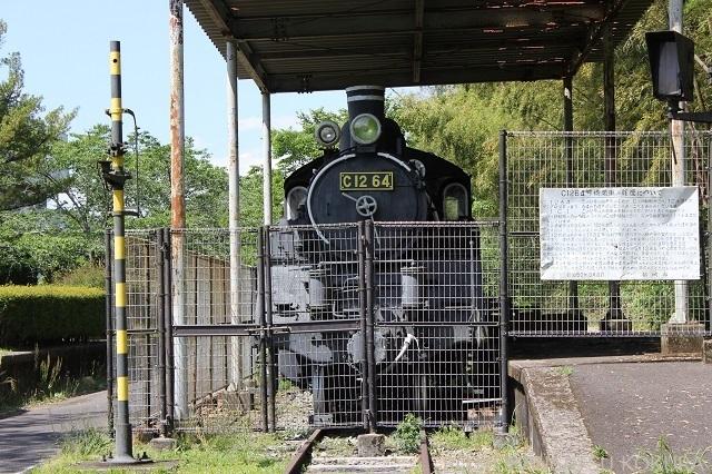 かわいい蒸気機関車