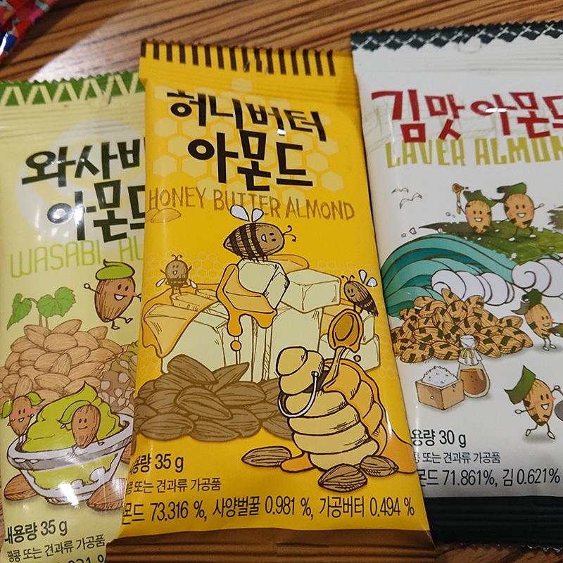 韓国 ピーナッツ