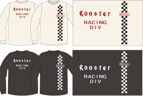 Rooster別注OD LS Tee