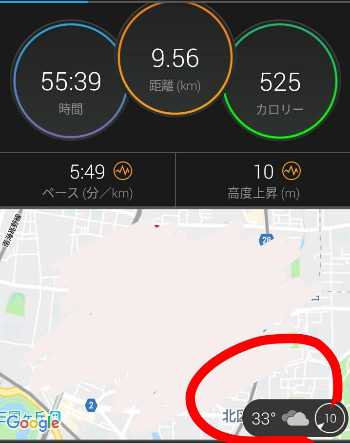 暑い中走り続けられない原因
