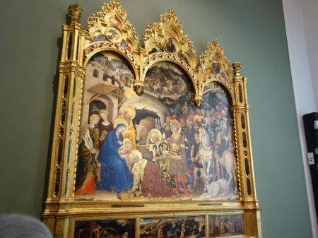 フィレンツェウフィツィ美術館 (1)