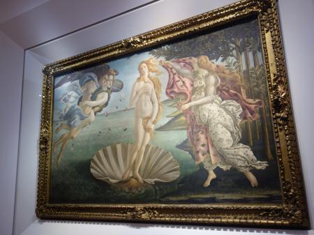 フィレンツェウフィツィ美術館 (3)