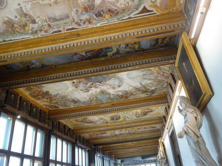 フィレンツェウフィツィ美術館 (5)