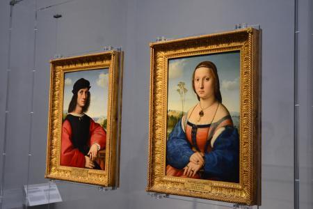 フィレンツェウフィツィ美術館 (8)