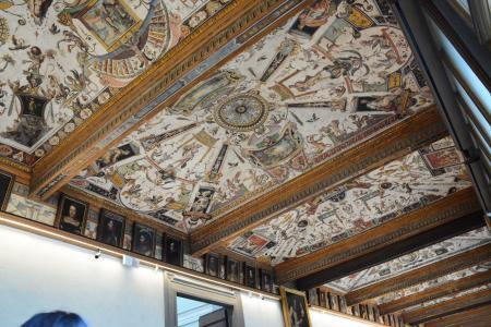 フィレンツェウフィツィ美術館 (11)