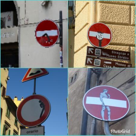イタリア 標識
