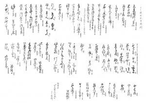 古文書大辞典
