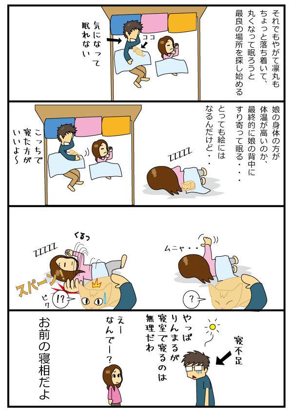 寝る問題2