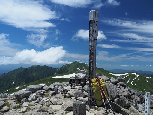 飯豊本山山頂