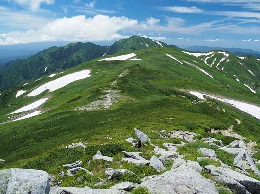 本山から大日岳