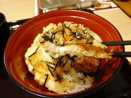 天ぷらスガキヤ:とり天ぷらセット4